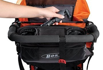 Bob Stroller Handlebar Console with Tire Pump