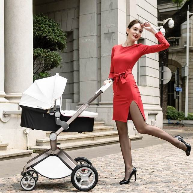 Hot Mom Baby Stroller 2017, Hot Mom 3 in 1 Travel System and Bassinet Baby Stroller Review