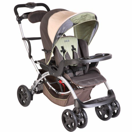 Dream On Me Mia Moda Compagno Stroller, Mint Java