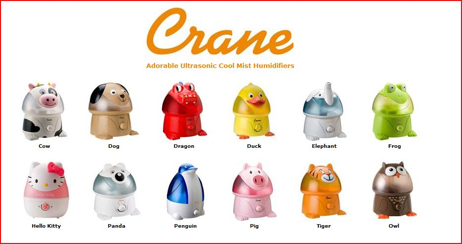 Best Crane Adorable Cool Mist Humidifiers Review